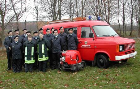 Die Freiwillige Feuerwehr im Jubiläumsjahr 2004