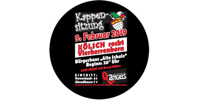 Fastnachtsfreunde Q-Angels Kappensitzung im Bürgerhaus Alte Schule in Vierherrenborn am 09.02.2019